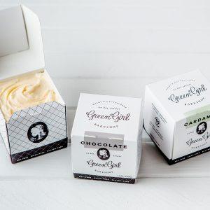 Custom Printed Cream Boxes